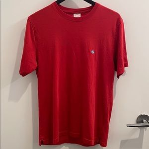 Brooks Brothers red tee shirt